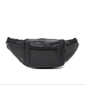 Nasty Gal Faux Leather Fanny Pack